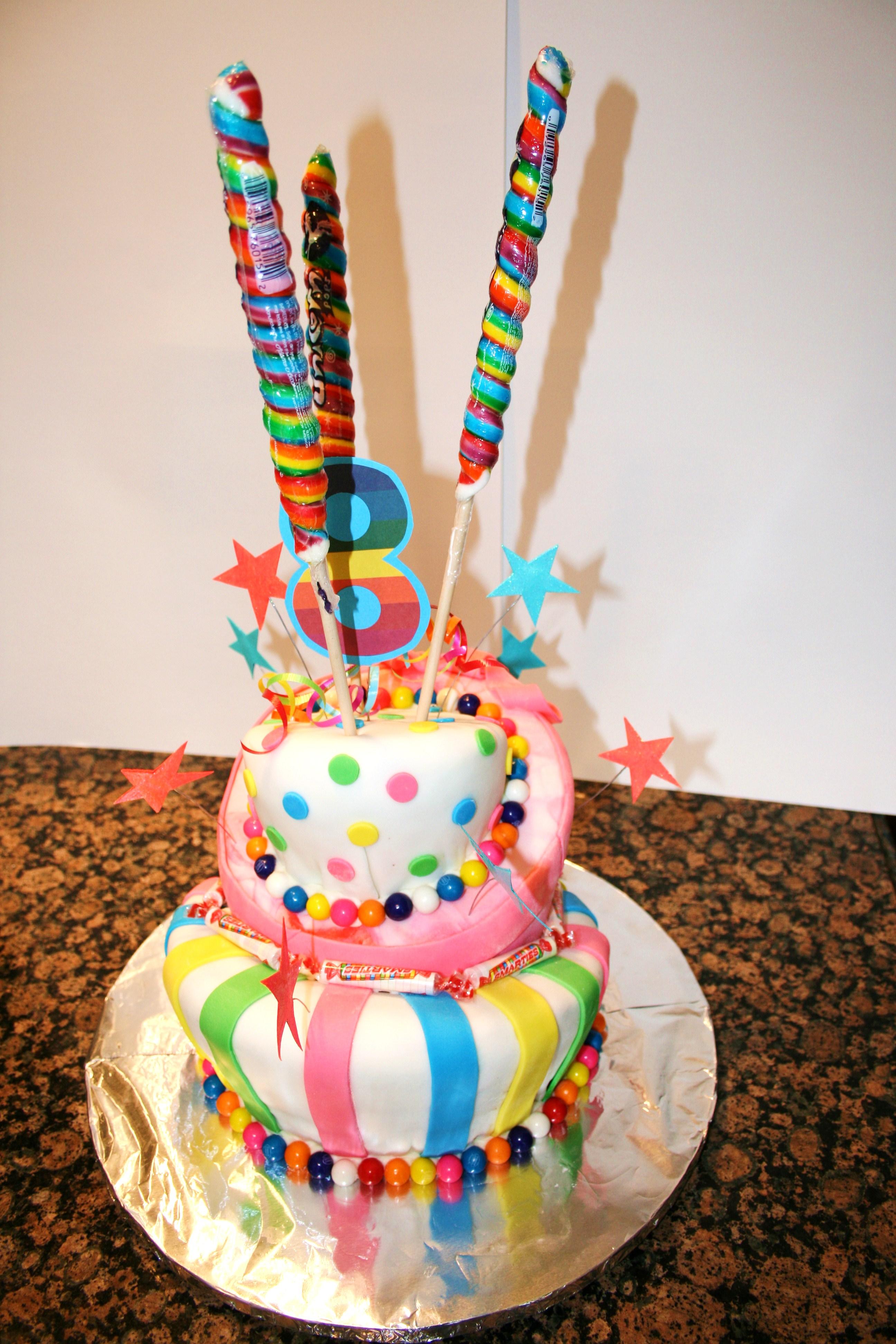 Lollipop Cake A Creative Mom