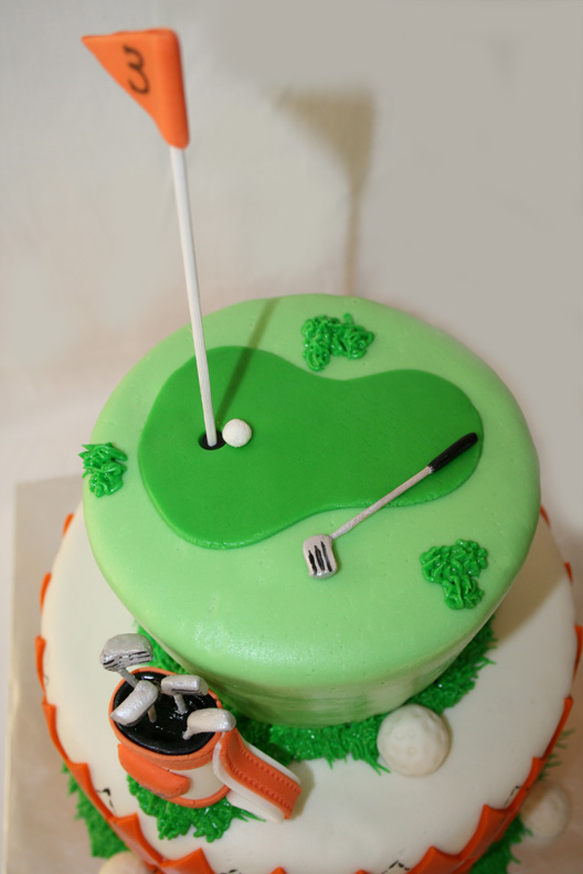 Golf Club Layer Cake